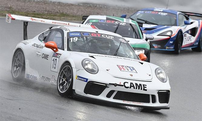 American Petrol sponsor oficial equipo GT Porsche